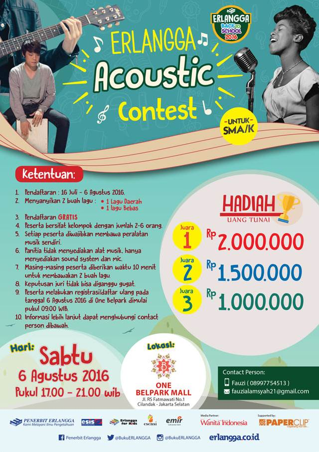 Erlangga Accoutic Contest