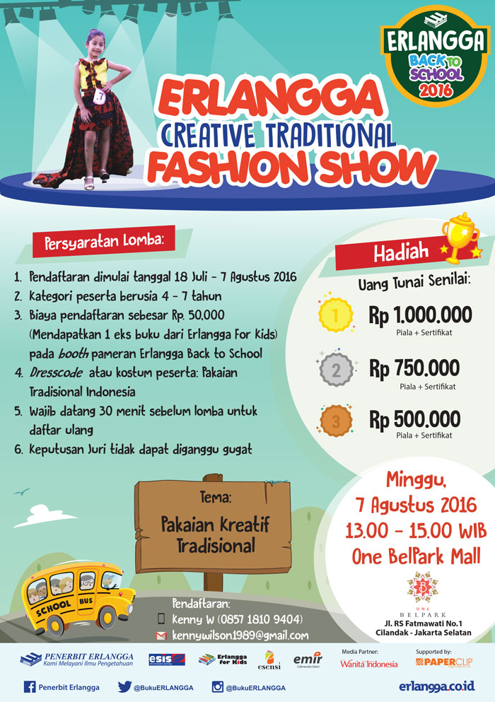 Erlangga Fashion Show Contest
