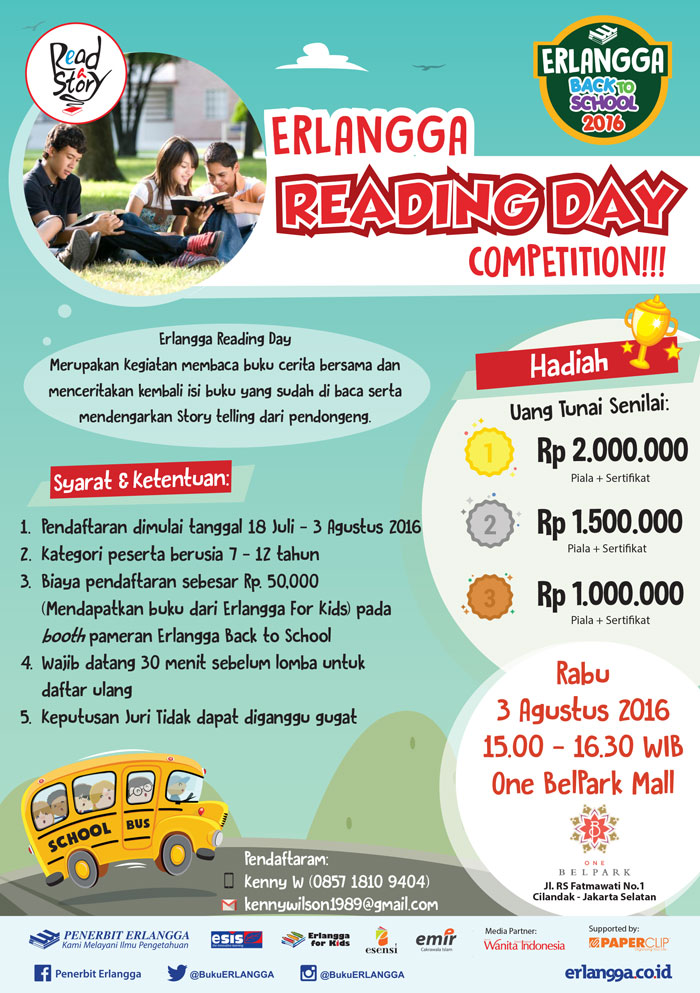 Erlangga Reading Day Contest