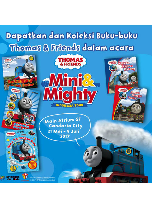 Thomas and Friends di Mini and Mighty Indonesian Tour