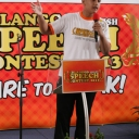 KEMERIAHAN GRAND FINAL ERLANGGA ENGLISH SPEECH CONTEST 2013