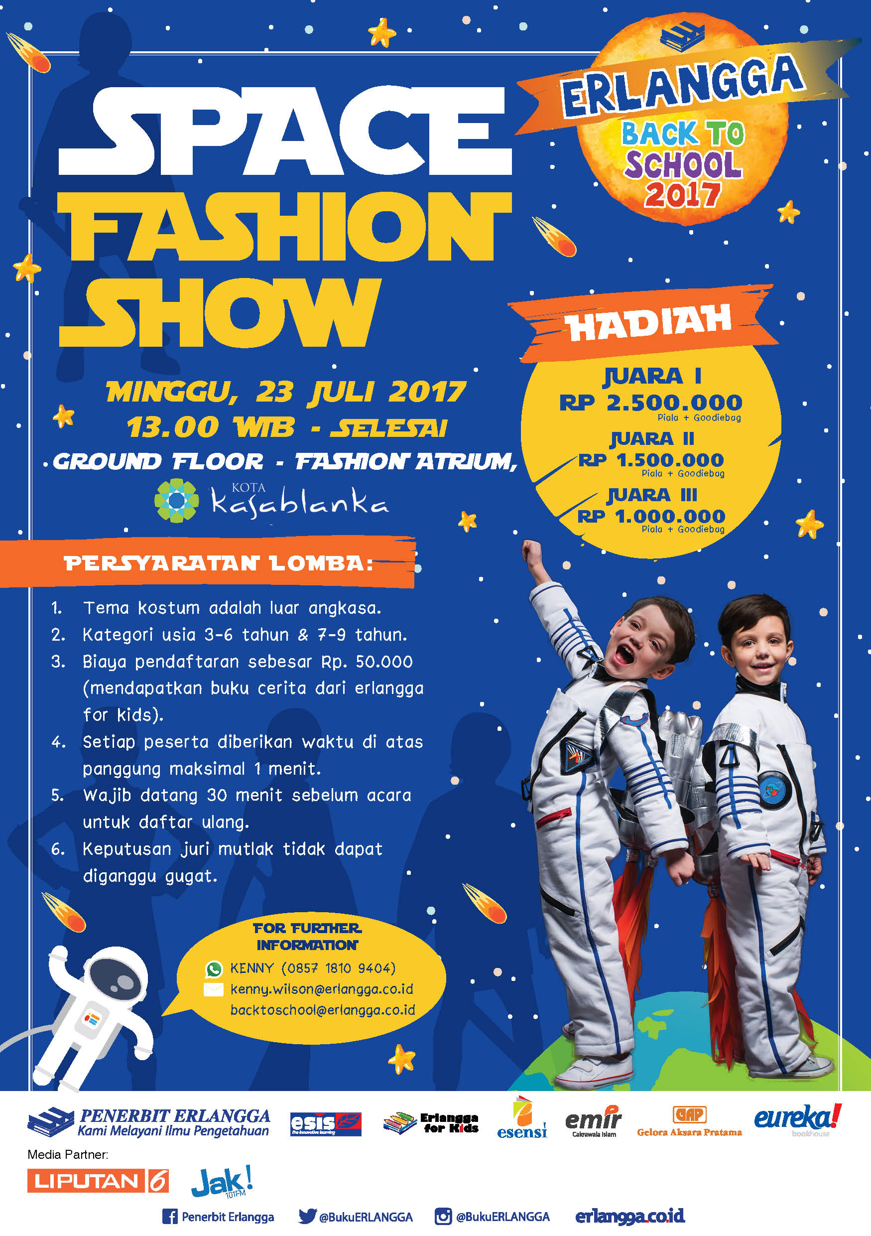 Space Fashion Show for Kids