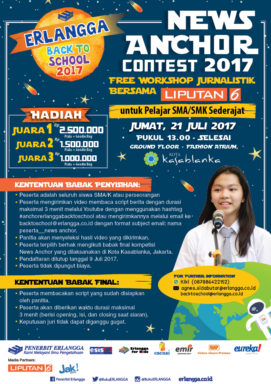 News Anchor Contest 2017