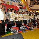 Foto bersama para finalis, dan guru pendamping