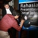 Launching Buku Rahasia Presentasi Steve Jobs