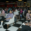 Pengunjung Grand Launching Novel Asmara Di Atas Haram