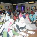 Peserta Grand Launching Novel Asmara Di Atas Haram