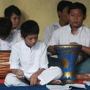 Grup marawis Panti Asuhan